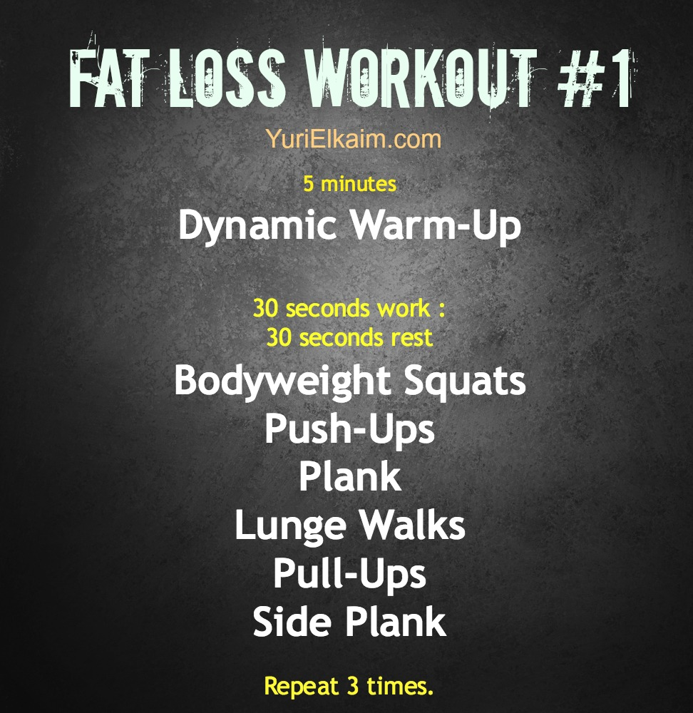 Fat Loss Excercises 8