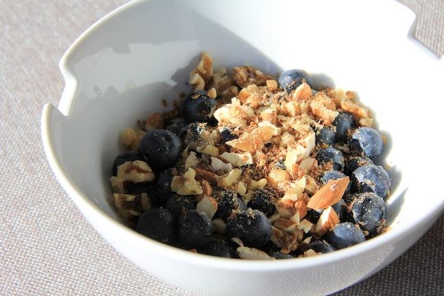 blueberry morning eating for energy